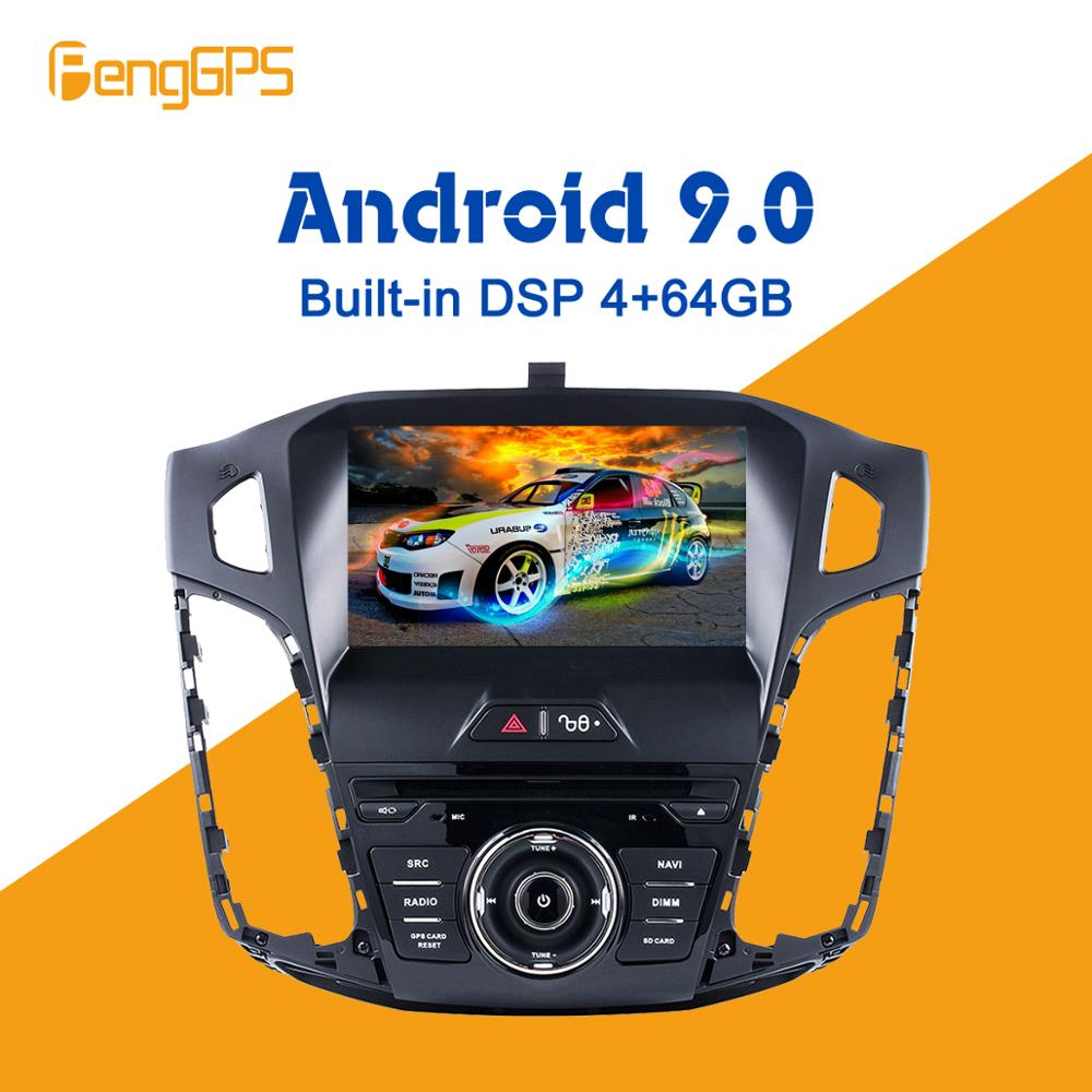 Android 9.0 PX5 4+64GB car DVD player Built-in DSP Car multimedia Radio For <font><b>FORD</b></font> <font><b>FOCUS</b></font> 2012-2016 GPS <font><b>Navigation</b></font> Audio Video image