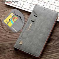 Luxus Brieftasche Flip Abdeckung Für Samsung Note10 + Starke Magnetische Leder Fall Für Galaxy S8 S9 S10 5G Plus s7 Rand Hinweis 10 9 8 Coque