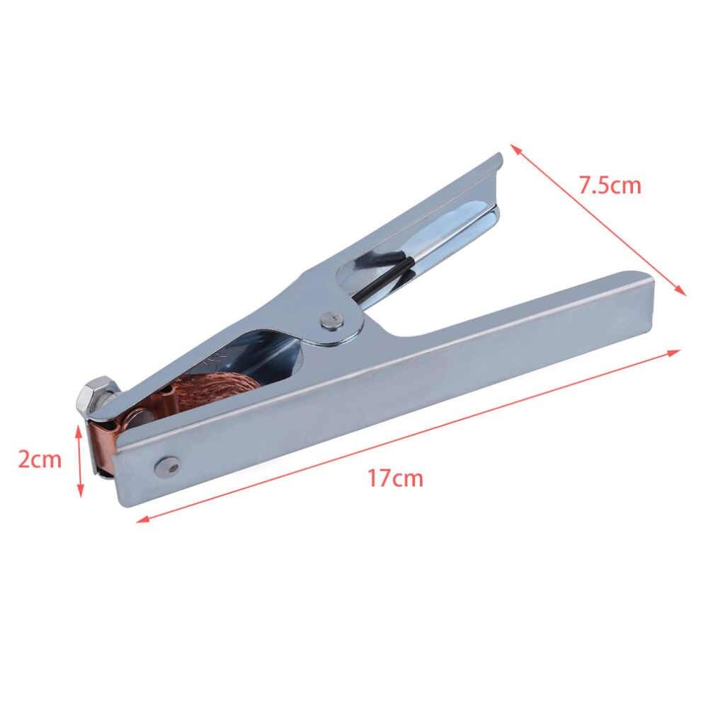 Lassen Aarde Klem Grond Klemmen accessoires apparatuur 300Amp Elektrode Houder Kabel Clip voor Lasser Gereedschap Aarding Lassers