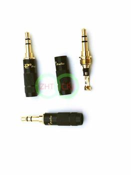 100pcs brass Stereo 3.5mm 3 Pole Repair Headphone Jack Plug Cable Audio New
