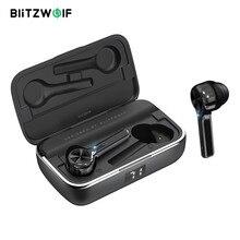 BlitzWolf BW FYE6 TWS 블루투스 5.0 무선 이어폰 Graphene 디지털 디스플레이 터치 컨트롤 양방향 전화 Handfree 이어폰