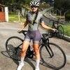 2020 pro team triathlon bike wear manga curta collant ciclismo wear 9d gel feminino terno de uma peça 4