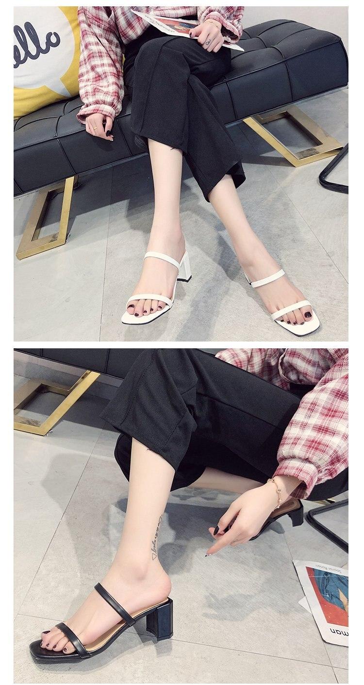 Sandálias planas com alças para pés, sandálias