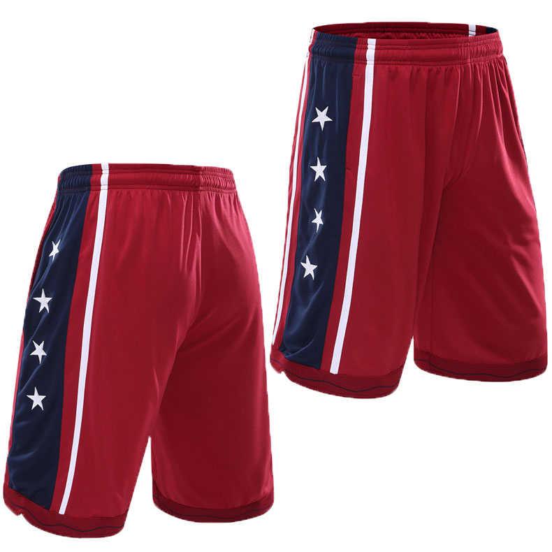 جديد 2020 الولايات المتحدة الأمريكية شورت كرة السلة القصير الرياضة التدريب الرجال الصالة الرياضية السراويل جيوب فضفاضة رجالي الصيف الجري اللياقة البدنية الركض بنطلون قصير