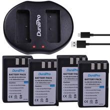 DuraPro – batterie Li-ion 4x1800mAh + chargeur USB, pour appareil photo Nikon D40, D40X, D60, D3000, D5000, EL9