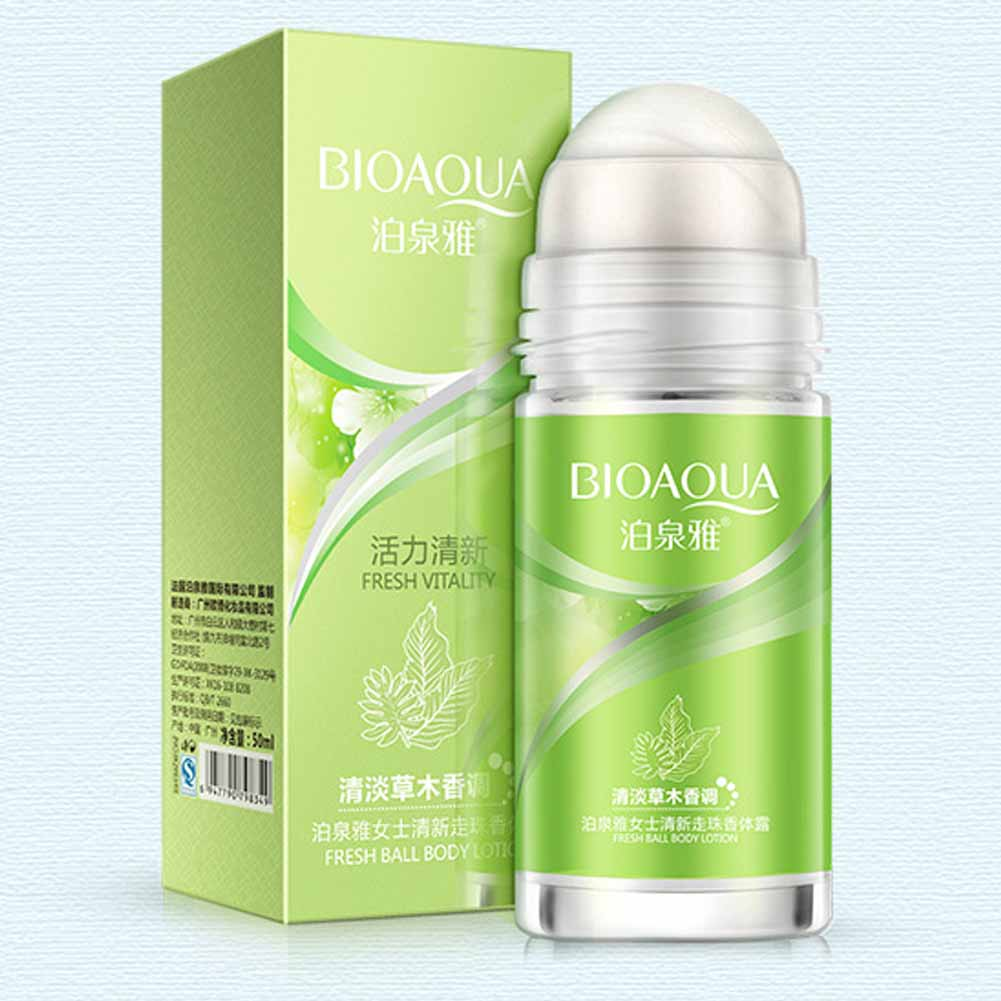 Ball Body Lotion Antiperspirants Underarm Deodorant Roller Bottle Fragrance Smooth Dry  Slimming Body Cream Perfumes