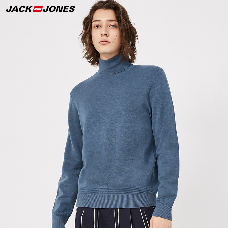 JackJones Autumn & Winter High-neck Woolen Knit Sweater |219424504