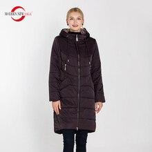 Nueva y moderna SAGA 2019 nueva colección de invierno abrigos y chaquetas Parkas finas de algodón acolchado sobretodo prendas de vestir para mujeres