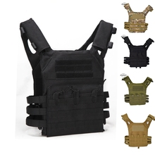 Tactical JPC MOLLE Vest Men Army CS Field Vest Outdoor Training Airsoft Protective Vest Military Equipment жилет армейский no molle cs