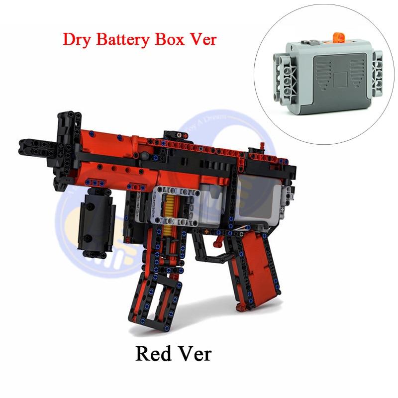 brinquedos arma apto logotipos técnica MOC-29369 mp5