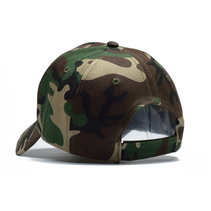 HSSEE official authentic army camouflage cap cotton breathable comfortable fishing cap unisex outdoor sports hat