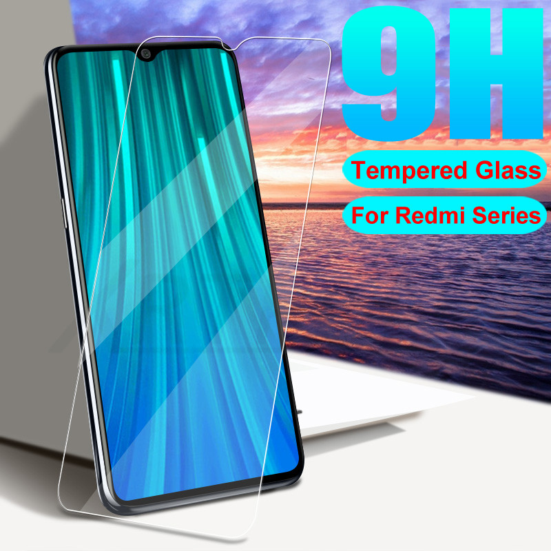 9H HD Tempered Glass On For Xiaomi Redmi 8 8A 7 7A 6A 6 Pro K20 Note 6 7 8 Pro Screen Protector Safety Protective Glass Film