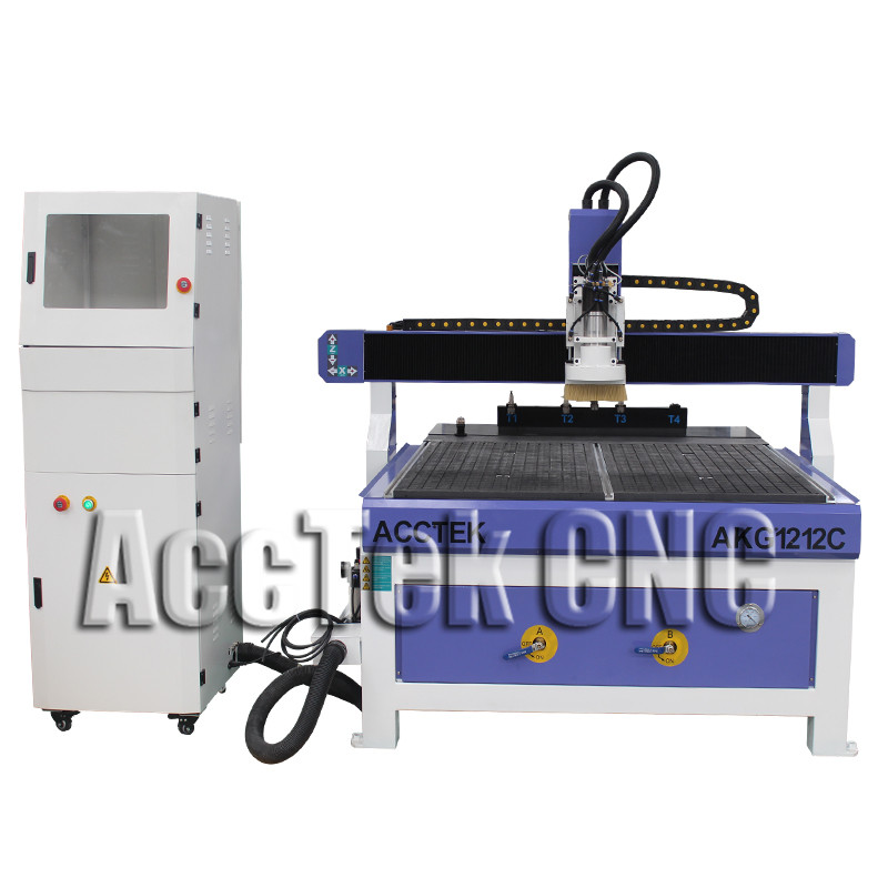 Discount Price AKG1212C Wood Door Making Auto Tool Changer Cnc Router Machine Cnc Milling Machine