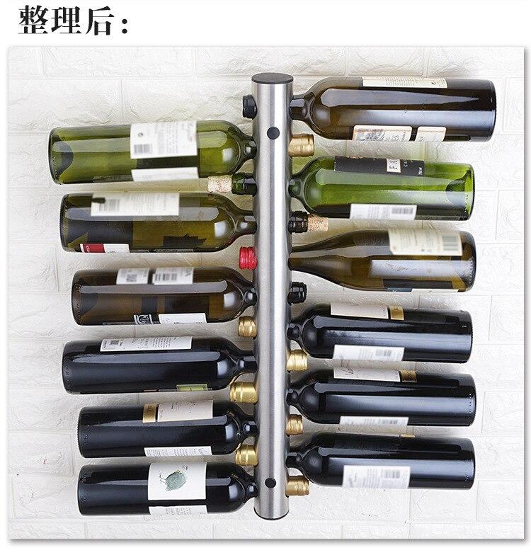 Cremalheira do vinho tinto de aço inoxidável,