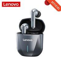 Lenovo-auriculares inalámbricos xg01para videojuegos, cascos con TWS de baja latencia, 50ms, Bluetooth, micrófono, Larga modo de reposo, resistentes al agua
