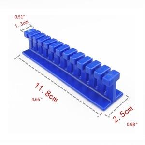 Image 5 - 4pcs הכחול רכב לא צבוע דנט תיקון פולר כרטיסיות שקעים הסרת קיט מחזיק