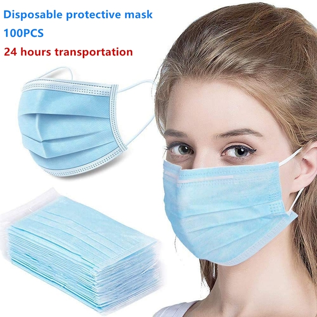 Disposable Protective Anti Flu Dust Pollution Mask Face Allergy Particulate Filter Air Purification Gas masks FFP3