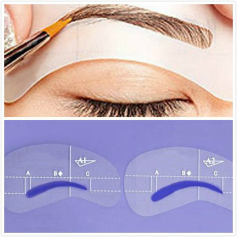 4pcs-Magic-Eyebrow-Stencil-Makeup-Styles-A-Stencil-For-The-Eye-Brow-Drawing-Template-Make-Up