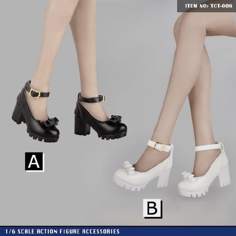 1/6 Scale Figure Puppen Zubehör hochhackige sandalen für 12 zoll weibliche action figure Toyscentre TCT-006