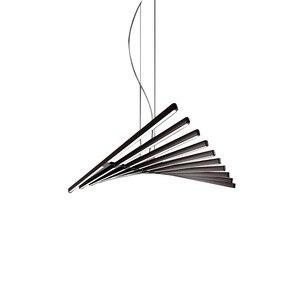 Image 5 - Modern LED Chandelier lighting Nordic Black/White Office Pendant lamps living room home hanging lights dining room Bar fixtures