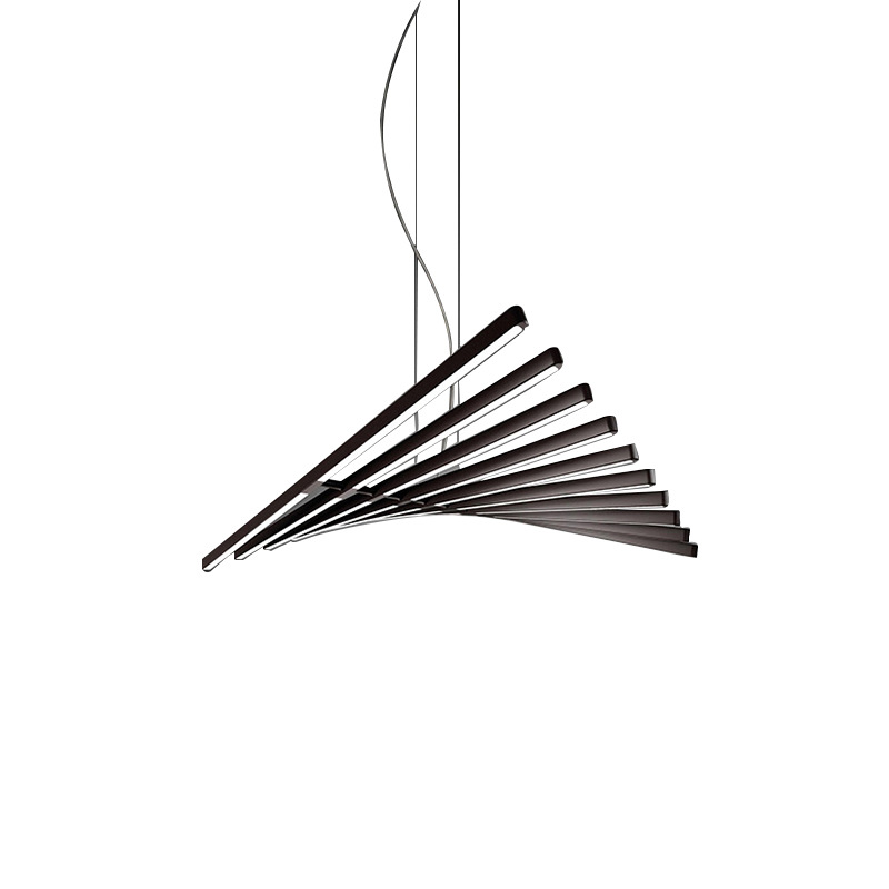 Moderne LED Kronleuchter beleuchtung Nordic Schwarz/Weiß Büro Anhänger lampen wohnzimmer hause hängen lichter esszimmer Bar leuchten - 6