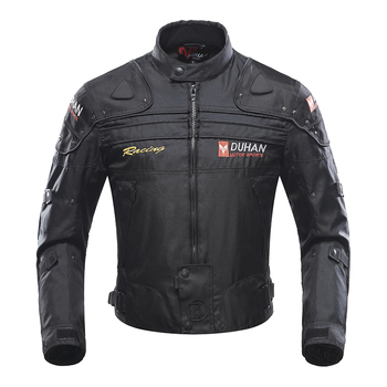 DUHAN Men Motorbike riding Jackets man turtles Oxford Warm Clothing Motorcycle Jacket Moto Racing Motorbike cloth Winter Coats