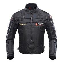 DUHAN erkekler motosiklet sürme ceketler adam kaplumbağalar Oxford sıcak giyim motosiklet ceket Moto yarış motosiklet kumaş kış mont