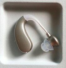 2 CH ที่มองไม่เห็น BTE เครื่องช่วยฟัง MINI ดิจิตอลไร้สายเครื่องช่วยฟังอุปกรณ์เสียงเครื่องขยายเสียง Hearing Impaired
