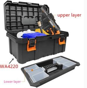 Image 4 - tool box Tools for WORX  suitcase case  BAG Connector  WA4220 57000630 WA4207 WA0071 Storage Suitcase