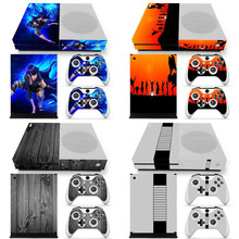Various designs for Xbox one S skin stickers console and 2 controllers