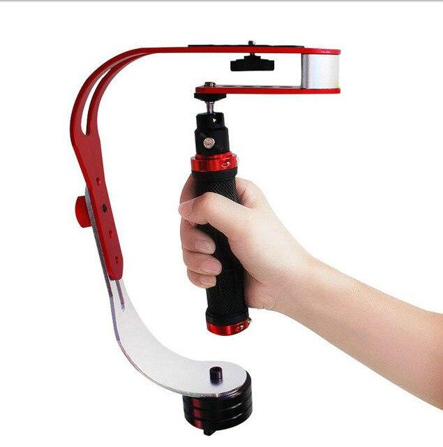 GTIPPOR ręczny stabilizator kamery kamera stabilizator steadicam do Gopro Hero telefon DSLR DV kardana ręczna stabilizator kamery