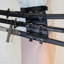 Стимпанк Готический средневековый меч пояс талии ножны, скаббард лягушка держатель рыцарь человек кожаные подтяжки ремень аксессуары для кобуры