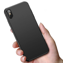 For iPhone XR XS MAX X Case Ultra Thin Matte Soft Back Cover Case For iPhone 8 7 6 6s Plus 5 5s SE TPU Protective Phone Cases laser person pattern protective abs back case for iphone 5 5s transparent silver