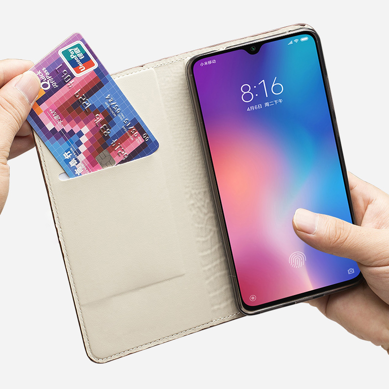 Image 2 - Leather Phone Case For Xiaomi Redmi Note 9s 8 7 Pro 4x K30 Mi 9 9se 10 9T pro A2 lite A3 Max 2 3 Mix 3 Poco F1 X2 Magnetic CoverFlip Cases   -