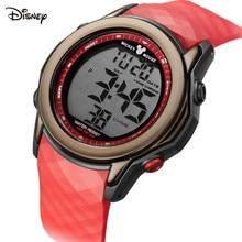 Disney дети% 27 часы Мальчики% 27 100 метр водонепроницаемые электронные часы спортивные средние школьные мальчики% 27 электронные часы