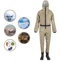 Recycle Reusable Isolation Suit Prevent Invasion of Virus Protective Clothing Dust proof Coveralls Washable and Reusable