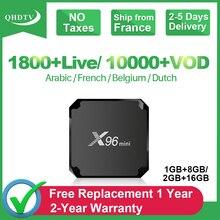 X96 Mini France IPTV Box QHDTV 1 Year IPTV French Arabic Code X96mini Android 7.1 Tv Box IPTV Belgium Morocco Netherlands IP TV