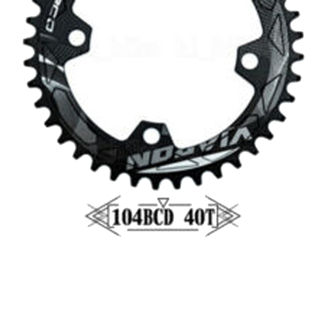 Chain Ring Chainring Aluminum Alloy 104BCD Component Parts Crankset Road