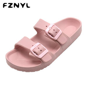 FZNYL Women Slippers New Arrival 2020 Fashion Outdoor Slides Ladies Comfortable Non-slip Home Slipper Indoor Casual Shoes 33-43