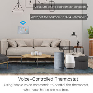 Image 3 - WiFi Thermostat Programmable Temperature Controller Underfloor Water/Gas Boiler Weather Station Tuya Smart Alexa Voice Control