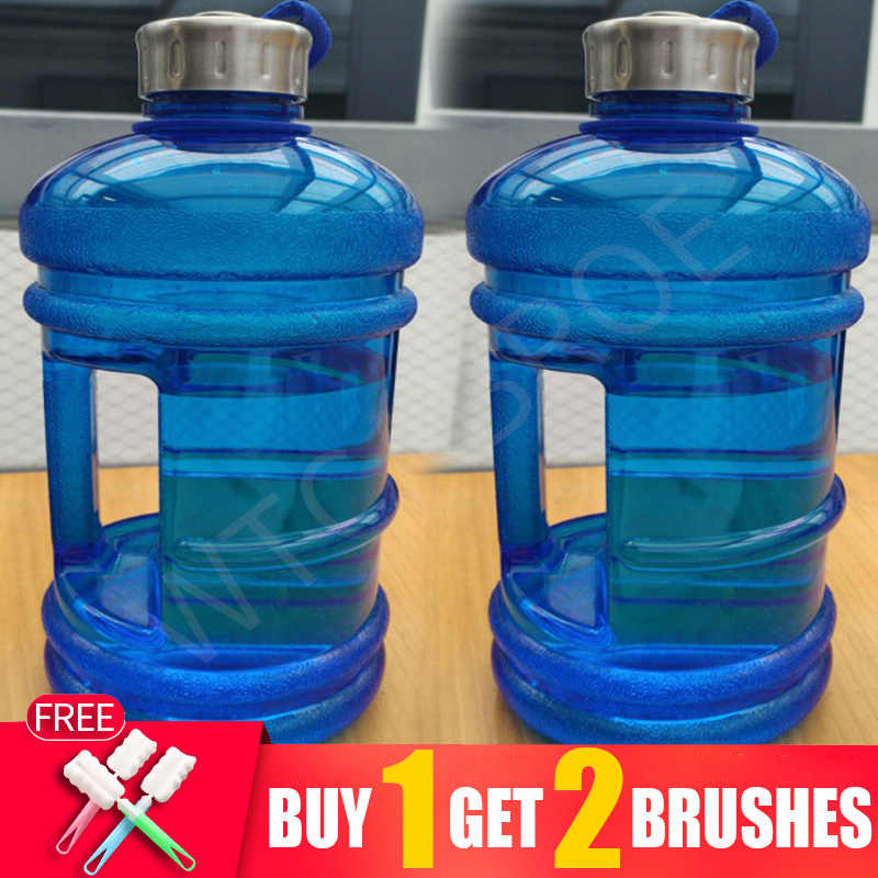 1 Gallon Big Drink Water Bottle Jug Gourd For Travel Sports Fitness Gym Training