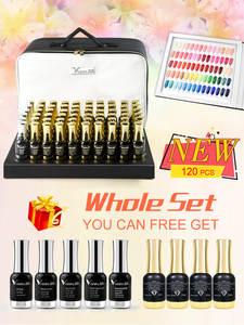VENALISA Gel Nail-Polish Color-Palette Glitter High-Quality Varnish Led-Gel Shining Lacquer