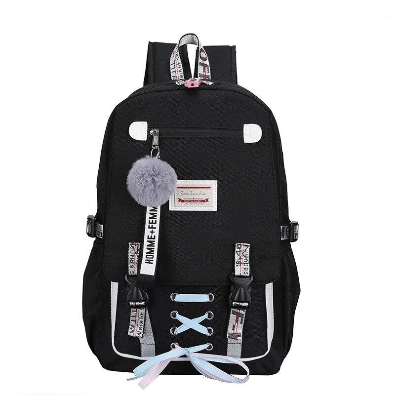 Shoulders Laptop Mini Backpack Men Women Travel Backpack Bag Mochila Mujer Bagpack School Bags For Teenage Girls Backpacks