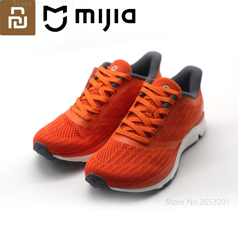 Youpin Light Smart Sneaker Running Shoes Antelope Outdoor Sports Shoes Rubber Support Smart Chip Better Than For Xiaomi Mijia 2