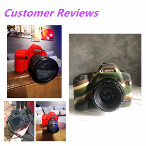 Image 2 - Silicone Armor Skin Case Body Cover Protector for Canon EOS 5D Mark II 2 5DII 5D2 Body DSLR Digital Camera ONLY