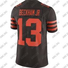 Jersey Vapor-Limited Cleveland Beckham Customized Brown 4XL Stitch Youth Kid Jr. Odell
