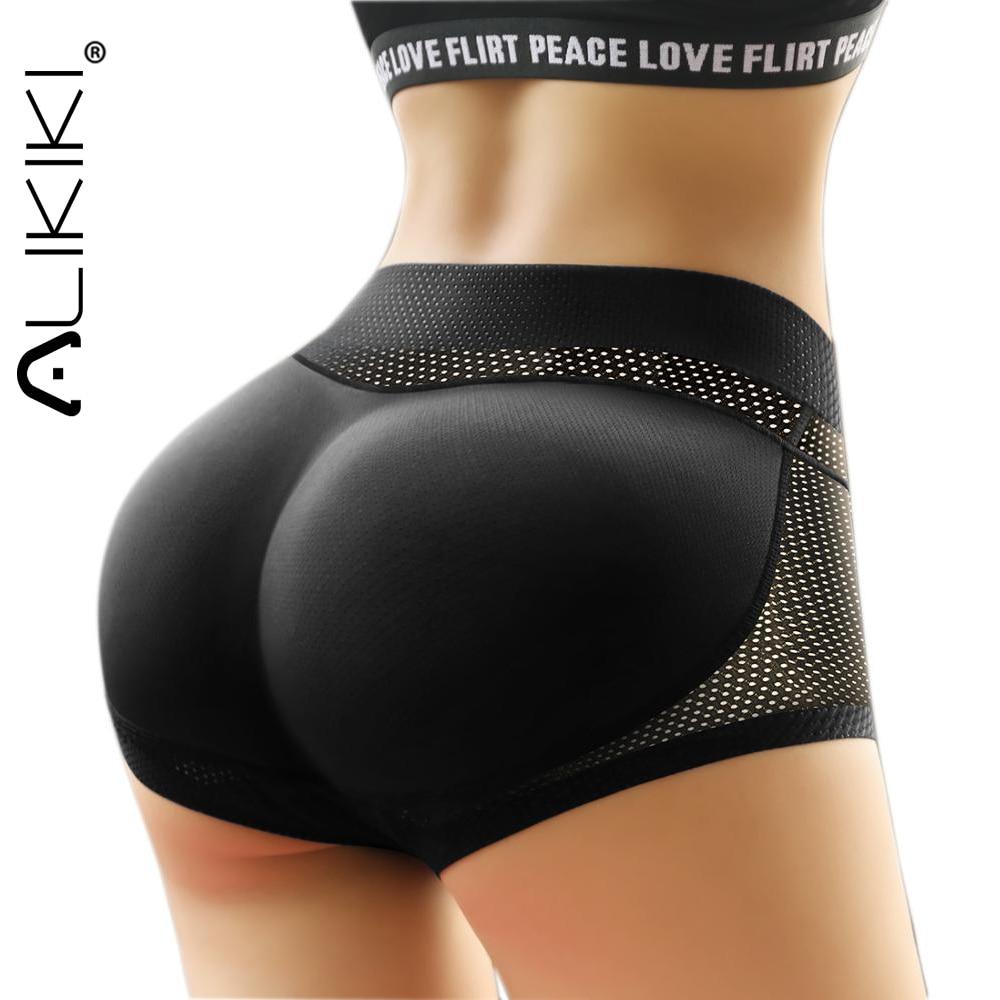 Women Sponge Padded Push Up Panties Butt Lifter Fake Ass Briefs Butt Hip Enhancer Seamless Control Panties Buttocks Lingerie 1