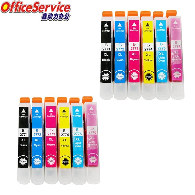 12X T2771 T277XL Compatible Ink Cartridge For Epson XP-860 XP-960 XP-850 XP-950 XP-750 XP-760 Printer