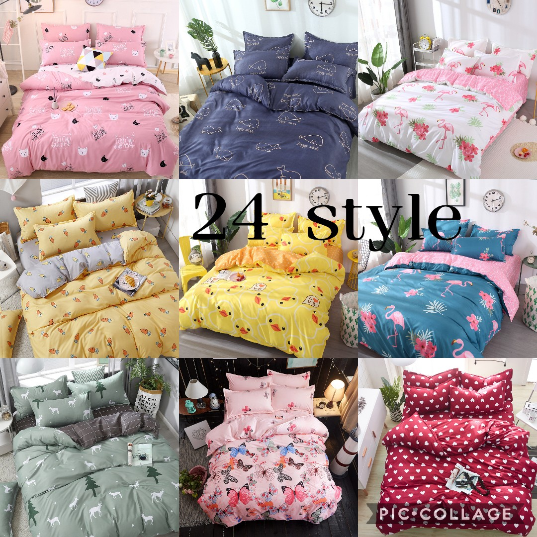 Hot Style Printing Bedding Set 1 Duvet Cover + 1/2 Pillowcases Bed In A Bag (no Sheet).
