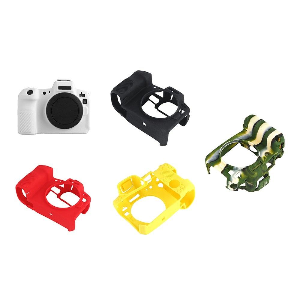 Pour Canon Eos R étui de protection professionnel silicone caoutchouc caméra couvercle de boîtier détachable de protection